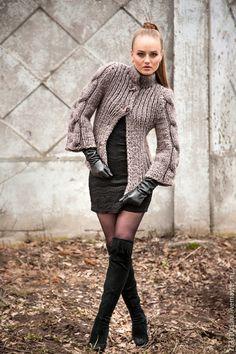 Crochet Jacket, Knit Jacket, Knit Crochet, Cardigan Pattern, Knit Cardigan, Barbie Clothes, Sweater Weather, Cardigans For Women, Knitwear