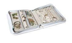 Hands down, the best travel jewelry case around. Signature Travel Jewelry Case in Embossed Croc Finish