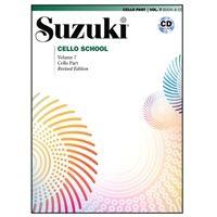 Suzuki Method Core Materials Suzuki Cello School Piano Accompaniment Volume 5 Revised