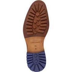 Floris van Bommel Chelsea-Boot Herren, Leder, blau Floris van Bommel