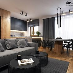 The Force Awakens - zdjęcie od Zarysy New Living Room, Living Room Interior, Home And Living, Living Spaces, Modern Kitchen Interiors, Modern Kitchen Design, Design Loft, House Design, Best Bathroom Designs