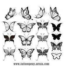 small butterfly tattoos - Google Search