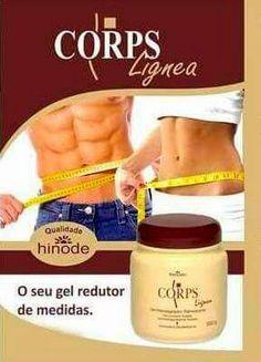 Gel Corpus - Hinode! Perca cerca de 15 cm de barriga! www.hinodeonline.net/999571