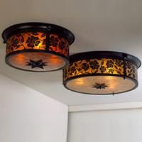 Lantera Ceiling Mounts from Mica Lamp Company
