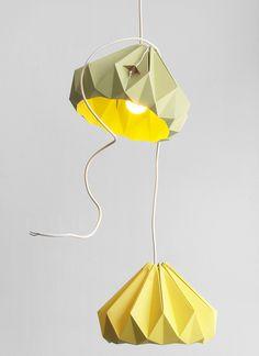 Chestnut origami lampe fra hollandske Studio Snowpuppe - WhatWeDo København