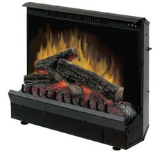 """Dimplex - Home Page » Fireplaces » Inserts » Products » 23"""" Standard Electric Fireplace Insert"""