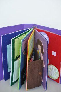 DIY Quiet Book, baby gift, birthday gift, kids activities