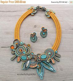 Check out this item in my Etsy shop https://www.etsy.com/listing/601068412/on-sale-summer-jewelry-set