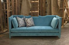 sigh, miss my turquoise sofa #turquoise