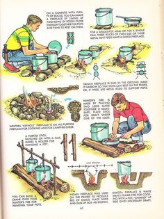 With the popularity of camping, hiking, and trailing at an all-time high, there comes a great demand to known even the most basic of survival skills before heading out on your next outdoor trip. Survival Life Hacks, Survival Food, Camping Survival, Outdoor Survival, Survival Prepping, Survival Skills, Outdoor Camping, Survival Rifle, Survival Knots