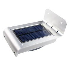 Sound Sensor LED Solar Outdoor Wall Lamp Light 16LEDs Waterproof by Brand NEW. $19.99. Specifications:      1. Solar panel: 0.55W  2. Li-ion battery: 3.7V 800mAh  3. LED: 16pcs, 1 Watt  4. Ray sensor:Auto-light at night  5. Sound sensor:LED will tun in power-saving mode in dark (dim light),     When trigger the sound sensor,the LED trun on 100% and delay aroung 30 Seconds automatically   6. Protect function: Over charging, over disch arging, over current, shor...