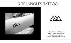 Resultado de imagen para hipster tattoo triangle