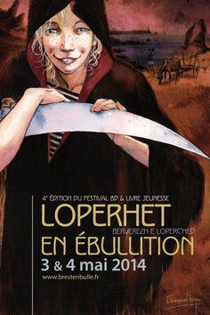 4e édition de « Loperhet en ébullition » festival BD et livre jeunesse. Du 3 au 4 mai 2014 à Loperhet.
