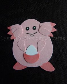 Gotta Craft Them All challenge dag 115: #Chansey #pokemon https://www.facebook.com/Lysettes.stampin.universe