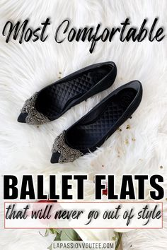 These 15  unique and practical ballet flats are women are stylish and affordable. Best of all, you can wear these shoes to work or to hang out with friends (#versatile). My favorite is... Black Fashion Bloggers, Black Women Fashion, Fall Shoes, Winter Shoes, Lace Up Booties, Ankle Booties, Most Comfortable Ballet Flats, Birthday Outfit For Women, Trendy Shoes