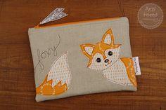 Foxy zip bag by Amy Friend