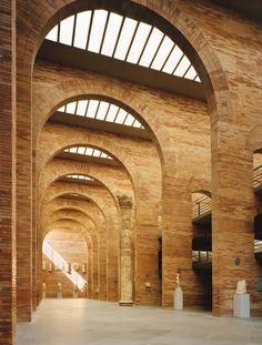 Museo Nacional de Arte Romano de Mérida. 1980-1986. Rafael Moneo. Foto: Michael Moran/OTTO.