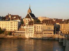 Basel in Basel-Stadt, Switzerland