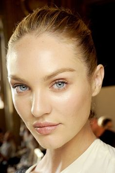 Stella McCartney backstage makeup