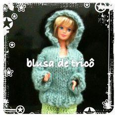 blusa de trico barbie (montagem) - LiiArt