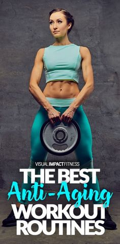The best anti-aging workout routines for women and men. How to stay fit over – Fitness + Workouts – skincare Best Anti Aging Creams, Anti Aging Tips, Anti Aging Skin Care, Fitness Workouts, Fitness Tips, Fitness Weightloss, Fitness Products, Workout Routines For Women, Exercise Routines