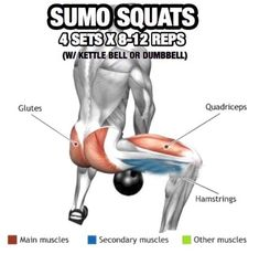 Leg Day Workout But Slightly Different Part 1! Sumo Squats