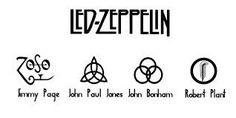 led zeppelin symbol meanings