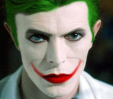 David Bowie as the Joker....and now my life is complete... <3