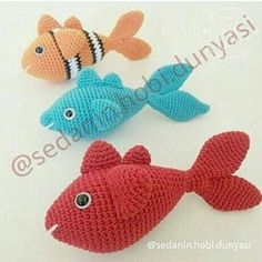Amigurumi Balık Tarifi
