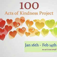 Toddler Approved!: 100 Acts of Kindness Project 2012