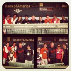 MASN meet and greet with Orioles skipper Buck Showalter.  So love Buck!!