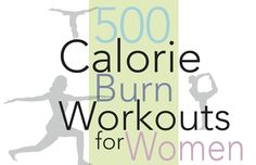 6 different workouts that burn 500 calories each in less than 30 minutes for each workout