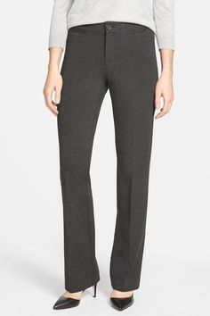 'Michelle' Stretch Ponte Trousers (Petite)