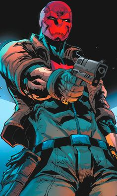 I'm wearing a Red Hood. In Gotham City. Who do you think I am? Jason Todd in Red Hood and the Outlaws #20