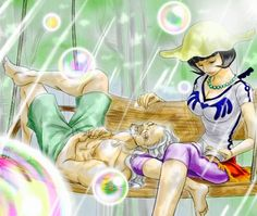 Rayleigh and Shakky --One Piece
