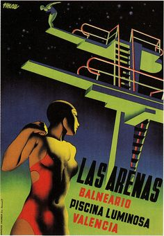 Piscina Luminosa by paul.malon, Las Arenas Valencia http://www.flickr.com/photos/paulmalon/5211269596/in/set-72157625145820390/