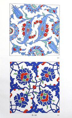 Turkish Ornamental Design c. 1940s 9 1/4 x 13 от TheBlueTwig