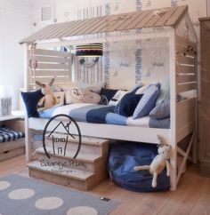 Beach shack kid's bed! AWESOME!!!!