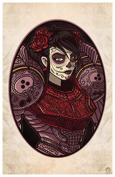 Dia De Los Prints by Crystal Bam Fontan Dia de... | IanBrooks.me