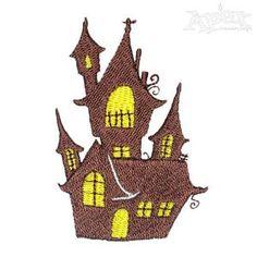 Castle Embroidery Designs