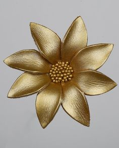 Items similar to Green Leather Flower Brooch, Flower Brooch, Leather Brooch, Kids Brooch, Leather Flower clips on Etsy Leather Flowers, Jewelry Design, Unique Jewelry, Flower Brooch, Gold Studs, Leather Jewelry, Fabric Flowers, Napkin Rings, Diy And Crafts