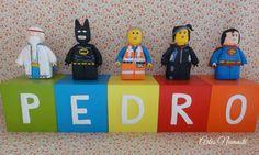 Cubos personalizados Lego Movie