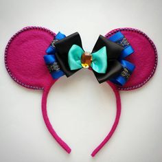 Anna Mouse Ears by MakeMeMinnie on Etsy