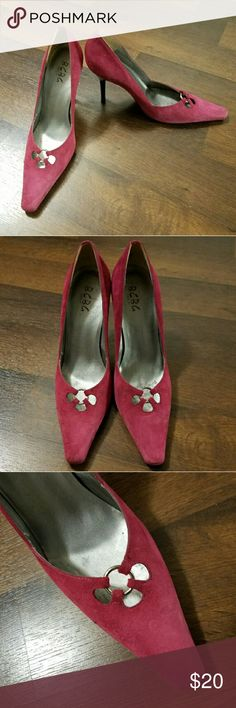 Selling this Pink BCBGENERATION Heels on Poshmark! My username is: kaderique. #shopmycloset #poshmark #fashion #shopping #style #forsale #BCBGeneration #Shoes