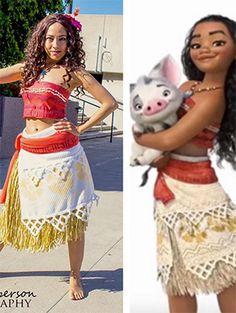 Best moana costume toddler size older kids sizes too disney disney has managed to take over a lot of things and halloween is definitely one of them with c diy costume pocahontas solutioingenieria Gallery