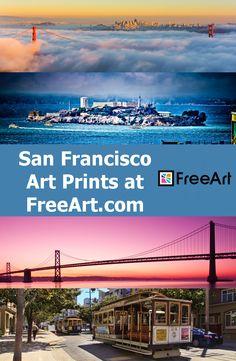 San Francisco Art Prints at FreeArt.com