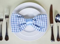 napkin bowties for derby day