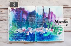 Feathers: Art Journal #27
