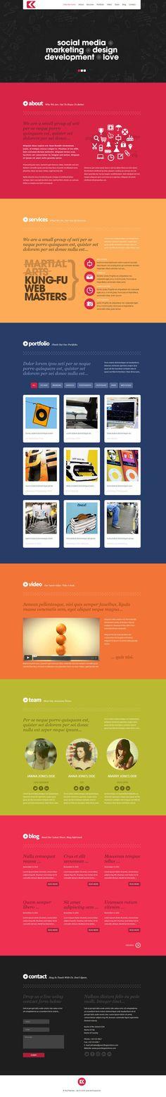 Kronos - One Page Responsive #Wordpress Theme http://themeforest.net/item/kronos-one-page-responsive-wordpress-theme/3686786?ref=wpaw #wp #web #design #cms