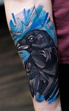 Szabi Raven Tattoo